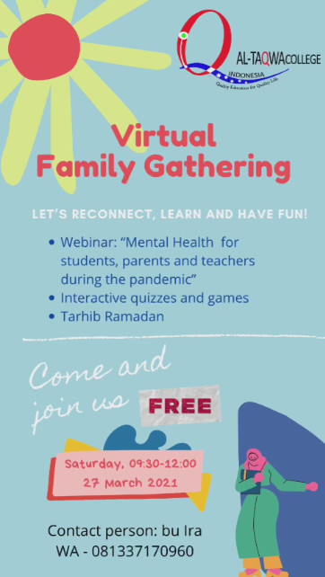 Virtual Family Gathering | Al-Taqwa College Indonesia